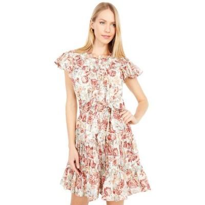 レベッカテイラー レディース ワンピース トップス Short Sleeve Lucienne Dress