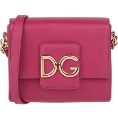 ドルチェ&ガッバーナ DOLCE & GABBANA レディース ショルダーバッグ バッグ cross-body bags Garnet