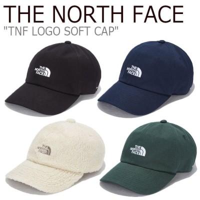ノースフェイス キャップ THE NORTH FACE TNF LOGO SOFT CAP ロゴ ソフトキャップ GREEN BLACK NAVY BEIGE NE3CL51A/B/C/D ACC 新品未使用 新古品