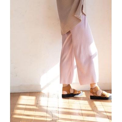 (marjour/マージュール)RELAX CORDUROY PANTS/レディース ラベンダー