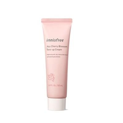 [INNISFREE] 済州ソメイヨシノ トーンアップクリーム/ Jeju Cherry Blossom Tone-up Cream [Tube Type]