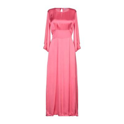 カオス KAOS 7分丈ワンピース・ドレス フューシャ 42 レーヨン 100% 7分丈ワンピース・ドレス