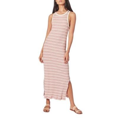 ジョア レディース ワンピース トップス Meri Striped Maxi Dress