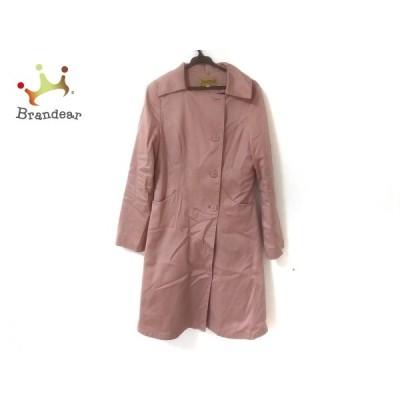 ホコモモラ JOCOMOMOLA コート サイズ40 XL レディース 美品 - ピンク 長袖/春/秋 新着 20210130