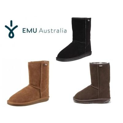 EMU BRONTE LO 定番 emu ブロント ウール エミュー ムートンブーツ     レディース  秋冬  スエード 正規品  ミドル ブーツ  送料無料