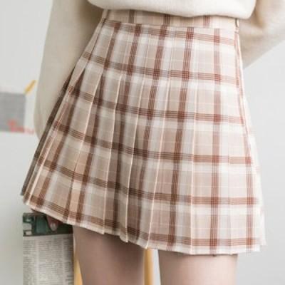 スカート プリーツスカート タイトスカート ミニ丈 プリーツ チック柄 可愛い  ショート丈 2019年 春 夏 おすすめ  お嬢様 上品 ガーリー
