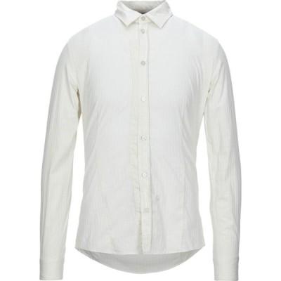 ゲス GUESS メンズ シャツ トップス solid color shirt Ivory