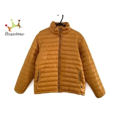 ペンフィールド ダウンジャケット サイズLL メンズ 美品 - ダークイエロー 長袖/ジップアップ/冬 新着 20201229