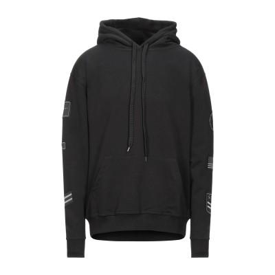 FAMILY FIRST  Milano スウェットシャツ ブラック S コットン 100% スウェットシャツ