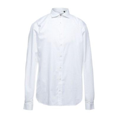 LIU •JO MAN シャツ ホワイト 45 コットン 100% シャツ