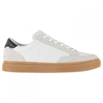 ポールスミス PS Paul Smith メンズ シューズ・靴 Troy Contrast Sole Trainers White