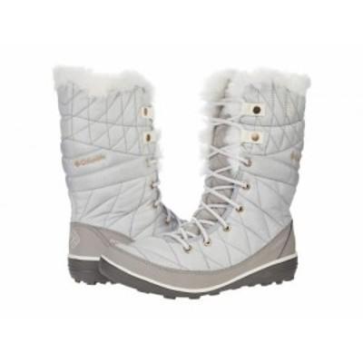 Columbia コロンビア レディース 女性用 シューズ 靴 ブーツ スノーブーツ Heavenly Omni-Heat Grey Ice/Sea Salt【送料無料】