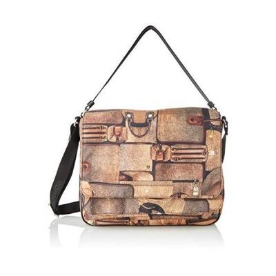 Borbonese Women's 934468I14 Cross-body Bag 並行輸入品