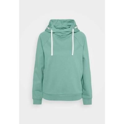 レディース ファッション Hoodie - dusty green