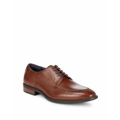 コールハーン メンズ シューズ オックスフォード 革靴 Edison Leather Derbys