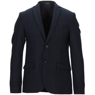 OFFICINA 36 テーラードジャケット ダークブルー 48 コットン 49% / ウール 35% / ナイロン 13% / 指定外繊維 3%