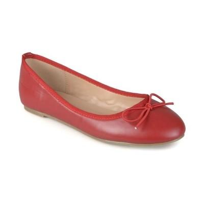 ジャーニーコレクション サンダル シューズ レディース Women's Vika Flats Red