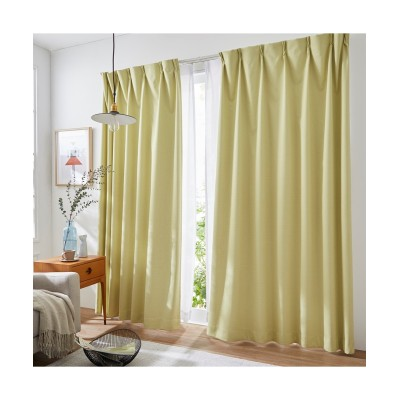 【送料無料!】奥行のある色合いのカチオンミックスドビー織遮熱。防音。1級遮光カーテン&遮熱。24時間見えにくい。UVカットレースセット カーテン&レースセット, Curtains, sheer curtains, net curtains(ニッセン、nissen)