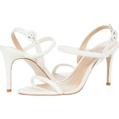 マッテオ マッシモ Massimo Matteo レディース サンダル・ミュール シューズ・靴 Evening Leather Sandal White