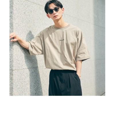 【WEB限定】 <info. BEAUTY&YOUTH> スーパービッグ クルーネック Tシャツ