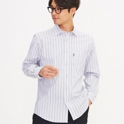 紳士ゴールデンベア メンズ ゴールデンベア 紳士 セミワイドカラーシャツ ライトグレー M