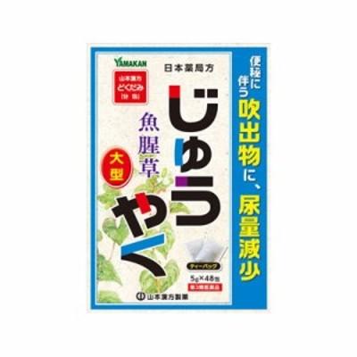 【第3類医薬品】 山本漢方 日本薬局方 ジュウヤク 48包 4979654027274