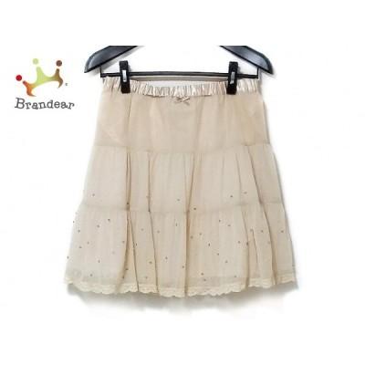 フランシュリッペ franchelippee スカート サイズM レディース - ベージュ   スペシャル特価 20200627