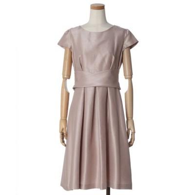 ドレス 【WEB限定】ウエストクロスデザインドレス
