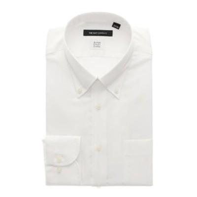 【SUPER EASY CARE】ボタンダウンカラードレスシャツ 織柄 〔EC・BASIC〕