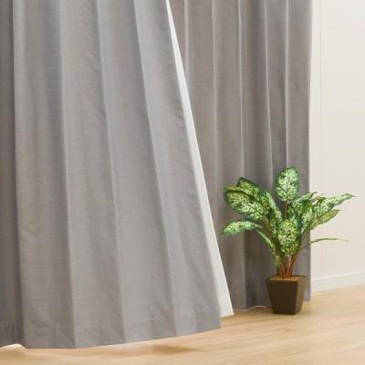(1枚入り)遮光1級・遮熱・遮音カーテン(ディナ グレー 100X110X1) ニトリ 『玄関先迄納品』