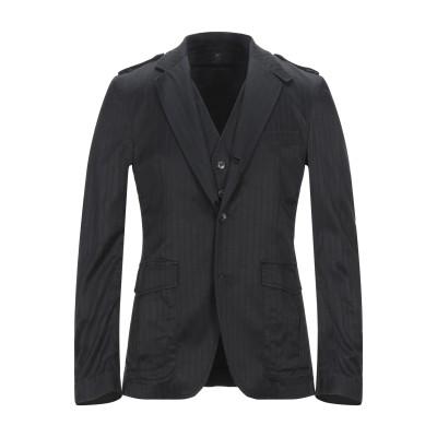 RICHMOND X テーラードジャケット ブラック 46 コットン 54% / レーヨン 43% / ポリウレタン 3% テーラードジャケット