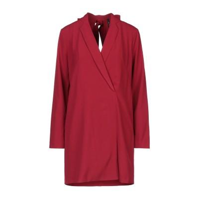 インペリアル IMPERIAL ミニワンピース&ドレス レンガ L ポリエステル 95% / ポリウレタン 5% ミニワンピース&ドレス