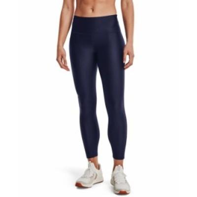 アンダーアーマー レディース カジュアルパンツ ボトムス Women's HeatGear® High-Rise Leggings Midnight Navy