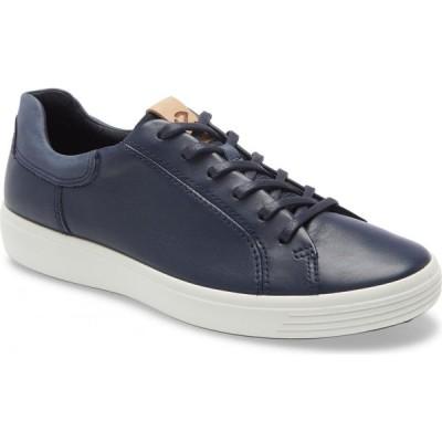 エコー ECCO メンズ スニーカー シューズ・靴 Soft 7 Sneaker Marine/Marine/Navy