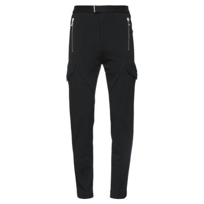 LES HOMMES パンツ ブラック 44 ナイロン 56% / 紡績繊維 30% / ポリエステル 12% / ポリウレタン 2% パンツ