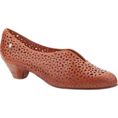 ピコリーノス サンダル シューズ レディース Elba Perforated Heel W4B-5900 (Women's) Brandy Calfskin