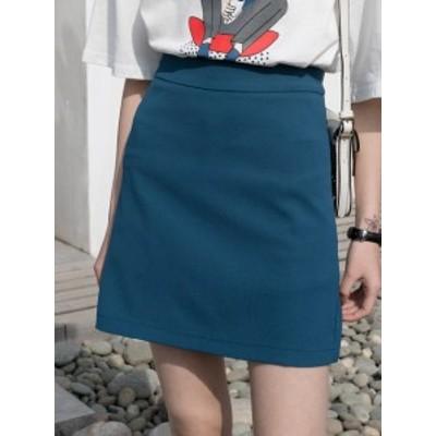 2020年新作 送料無料 ミニスカート ショート丈 無地 大人可愛い フェミニン シンプル きれいめ 春夏 お出かけ 女子会 全2色