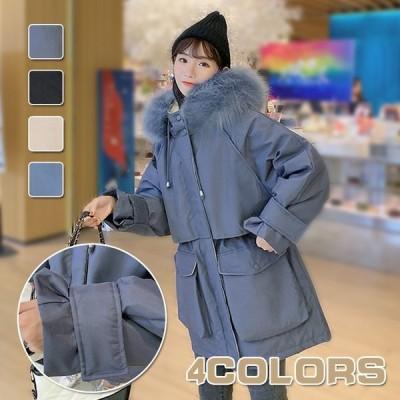 秋冬コート レディース  ダウン  韓国風 中綿 レディース ダウン   カジュアル かわいい 長袖コート 綿入れ 冬服 暖かい