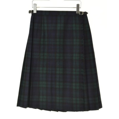 O'NEIL OF DUBLIN / オニールオブダブリン ブラックウォッチ柄 ウールキルト ラップ 巻き スカート