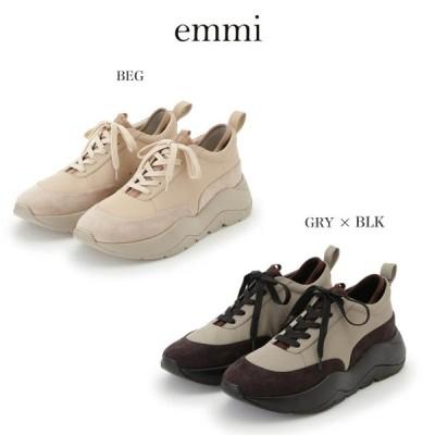 emmi エミ 通販 emmiオリジナルスニーカーVol.2 13wgs205301 レディース 2020新作 emmi original 靴 シューズ スニーカー サスティナブル素材