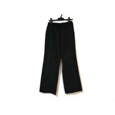 プリーツプリーズ PLEATS PLEASE パンツ サイズ5 XS レディース - 黒 フルレングス【中古】20210110