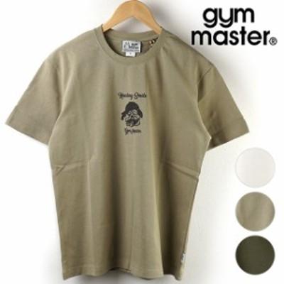 ジムマスター GYMMASTER メンズ ナノファイン加工 Tシャツ HEALING SMILE TEE [G633652 SU21] トップス 半袖 コットン 制菌・汗染み軽減