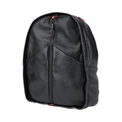 SANTONI バックパック ブラック 革 バックパック