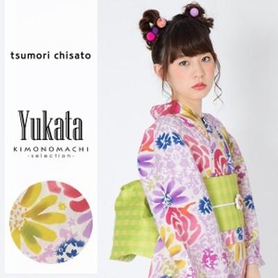 ツモリチサト 浴衣単品「バラと花」 tsumori chisato 綿浴衣 女性浴衣 [送料無料]ss2006ykl50