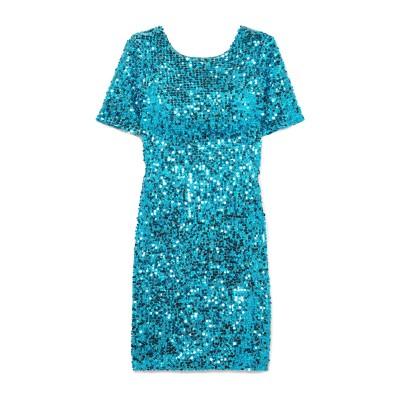 GALVAN  London ミニワンピース&ドレス アジュールブルー 44 ナイロン 65% / ポリエステル 35% ミニワンピース&ドレス