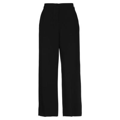 WEEKEND MAX MARA パンツ ブラック 40 アセテート 72% / ポリエステル 28% パンツ
