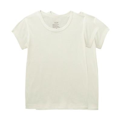 【リレー対象/Fグループ】なめらか保湿素材の半袖Tシャツ2枚セット(uru-hug)