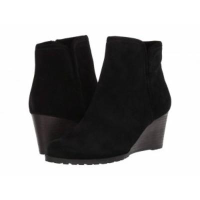Rockport ロックポート レディース 女性用 シューズ 靴 ブーツ アンクル ショートブーツ Hollis Vcut Bootie Black【送料無料】