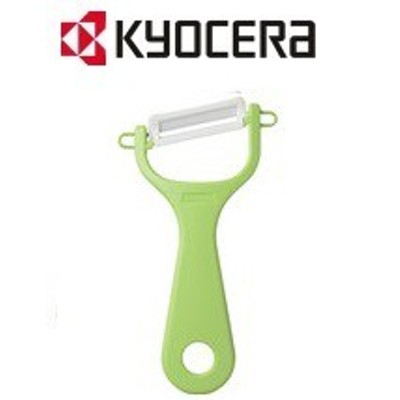 【ゆうパケット送料無料】KYOCERA・京セラ セラミックピーラー ななめ刃 CP-NA08 グリーン CP-NA08GR