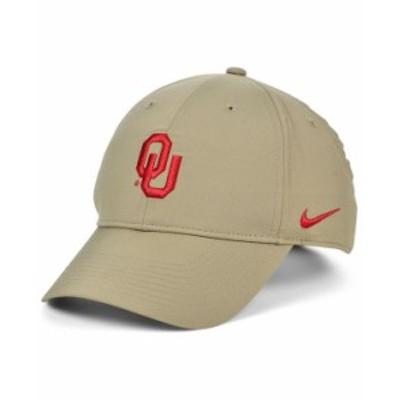 ナイキ メンズ 帽子 アクセサリー Oklahoma Sooners Dri-FIT Adjustable Cap Khaki